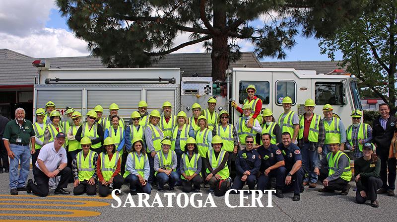 Saratoga CERT